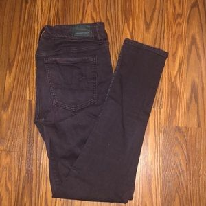 Colored Jeans (Wine)